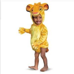 Disney Baby Simba Costume Size 6-12 Months